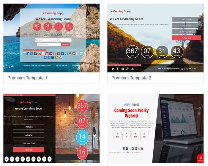 wordpress coming soon landing page plugin
