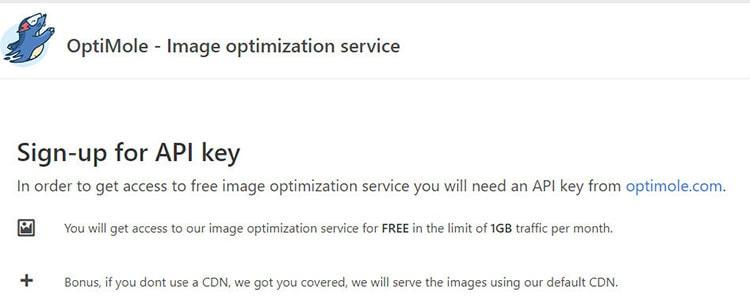 optimole image optimization plugin