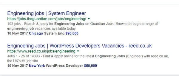 job posting schema plugin