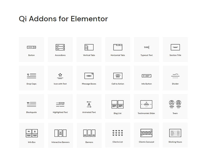 Qi Addons for Elementor review.