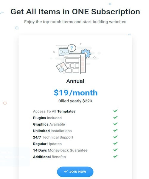 ONE Subscription pricing