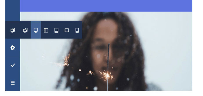 Responsive preview mode in Visual Composer