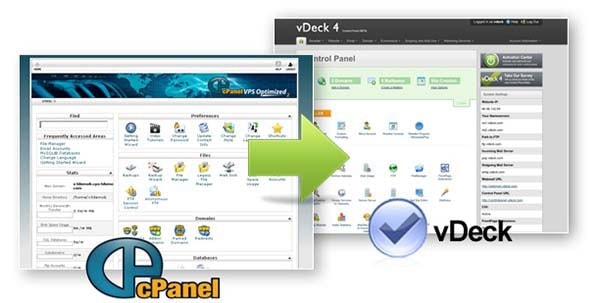 vdeck or cpanel