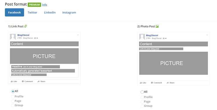 automatic share post on facebook wordpress plugin