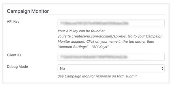campaign monitor wordpress plugin