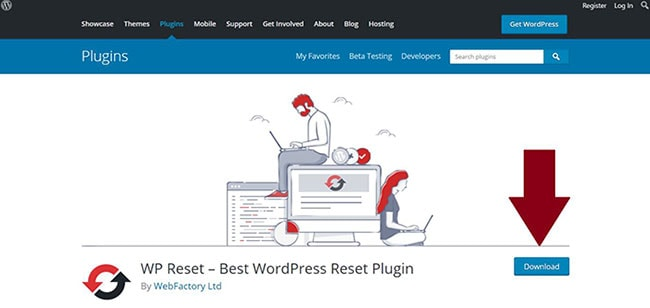 how to reset wordpress theme settings