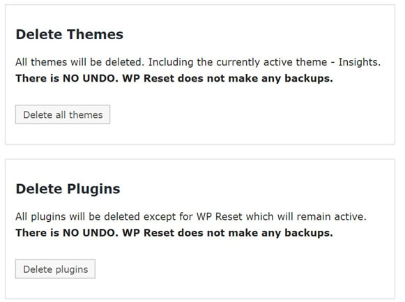 wp reset plugin review