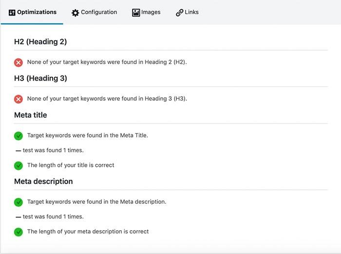 content analysis seopress
