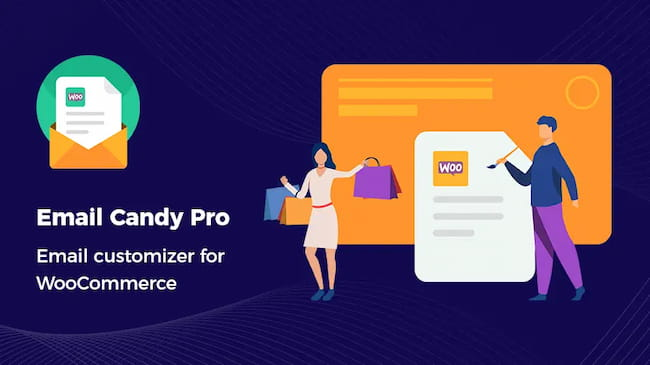 Email Candy Pro - Email customizer for WooCommerce.