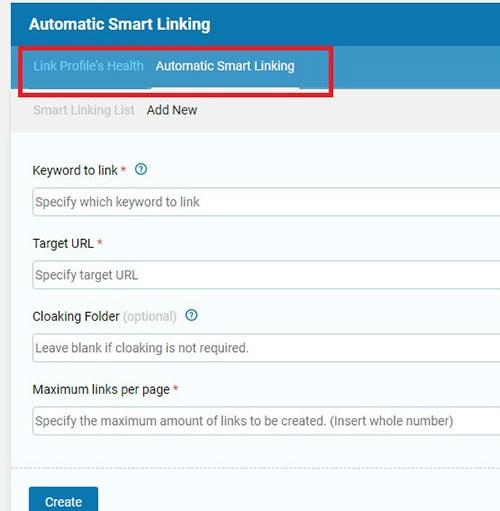 automatic smart linking seopressor