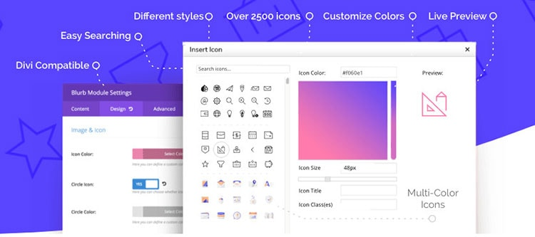 Divi Icon Expansion Pack review