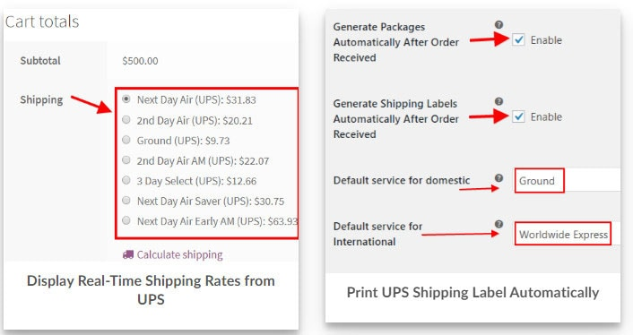 best WooCommerce UPS Shipping Plugin with Print Label