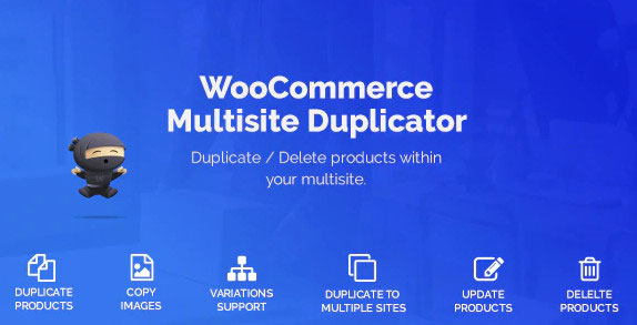 copying products woocommerce multisite