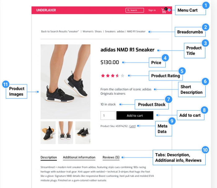 customize woocommerce pages using elementor