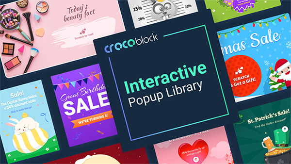 Crocoblock Interactive Popup Library works smoothly with Elementor.
