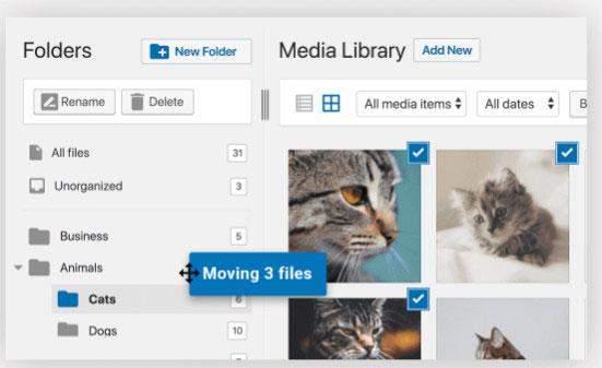 How FileBird plugin works?