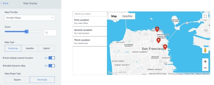 WordPress Store Locator plugin help customers find your stores, events, and products in a fully customizable map.