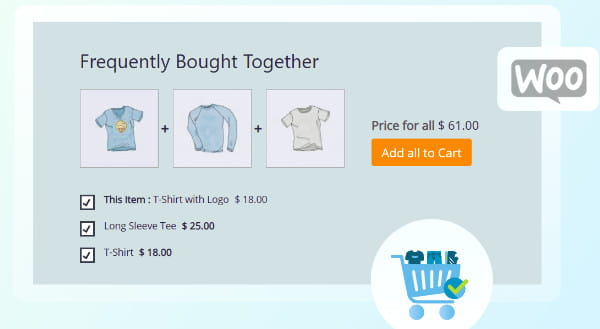 MightyThemes Frequently Bought Together for WooCommerce.