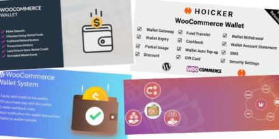 Best paid and free WooCommerce account funds and wallet plugins.