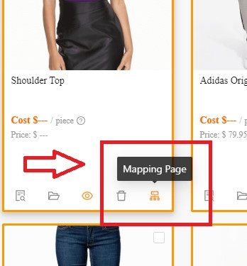 You have access to basic and advanced mapping options.