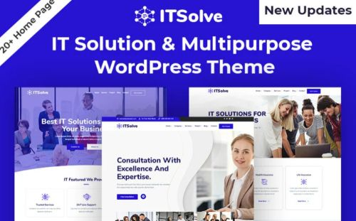 Business IT Solution & Multipurpose Theme.