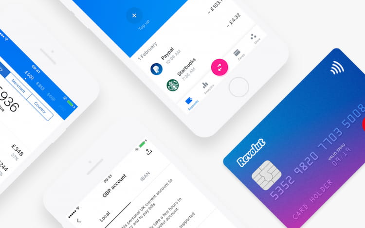 Revolut account review features.
