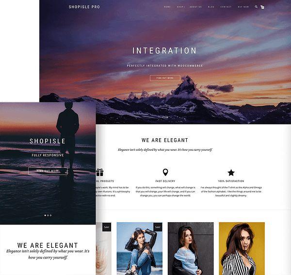 ThemeIsle ShopIsle Pro WooCommerce theme.