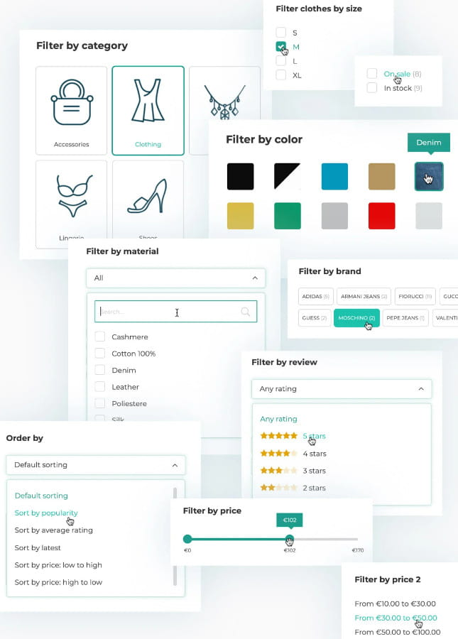 YITH WooCommerce Ajax Product Filter plugin.