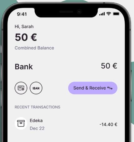 Nuri bank account features.