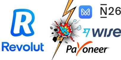 Best Revolut alternatives and Revolut competitors.