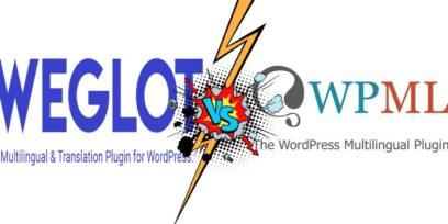 Weglot vs WPML comparison.