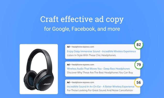 Create effectice ad copy using Anyword.