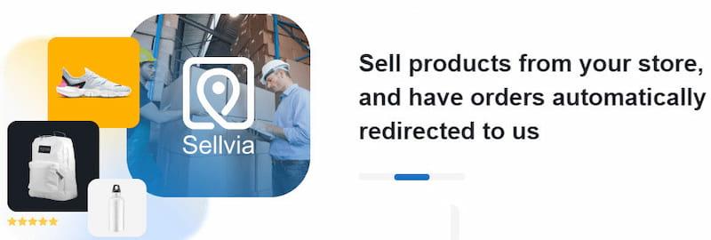 Sellvia WooCommerce integration.