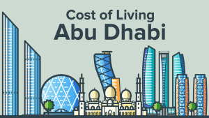 Cost Of Living In Abu Dhabi illustration