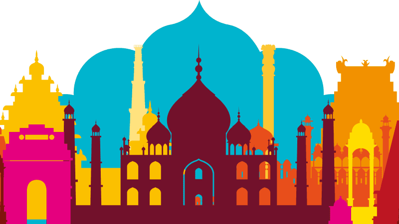 Expat Guide To Living In India illustration