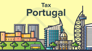 Tax in Portugal illustration for expats