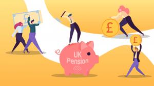Illustration of QROPS pension savings