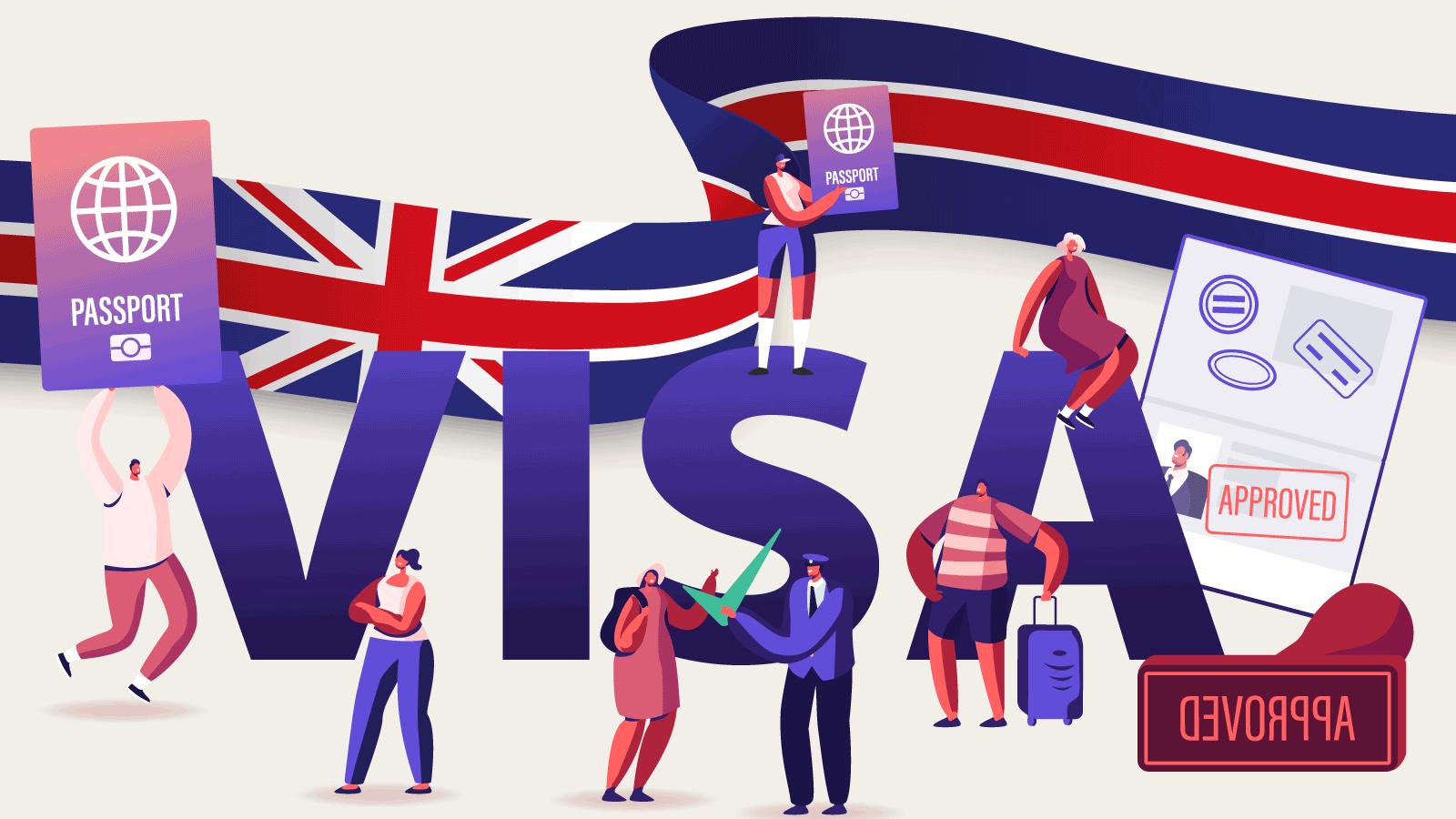 UK Visa application guide illustration