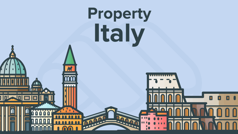 Buying Property in Italy illustration