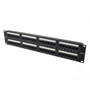 Cat6 48 Port U 2 UTP Horizontal Rack Mount Patch Panel