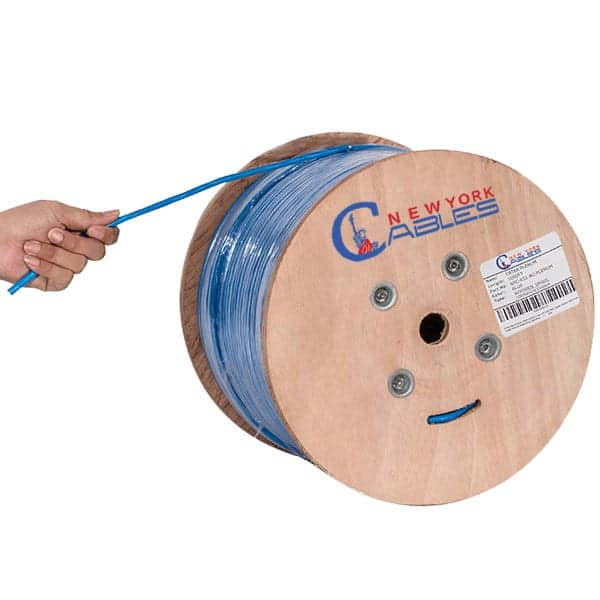 Cat6A Blue plenumbc