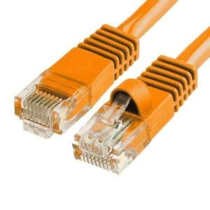 cat6 patch cable Orange