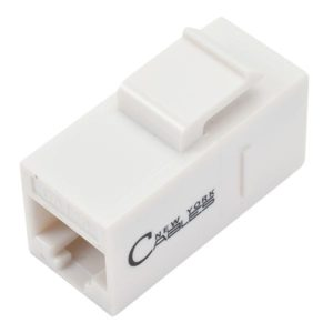 RJ45 Inline Keystone Jack Coupler For Ethernet Networking Cables