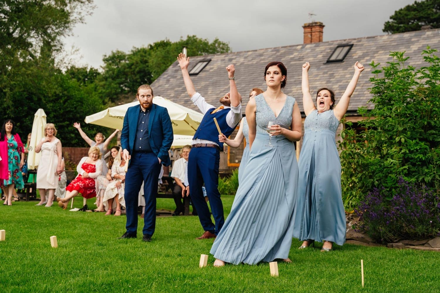lawn games at The Old Stables Wedding venue