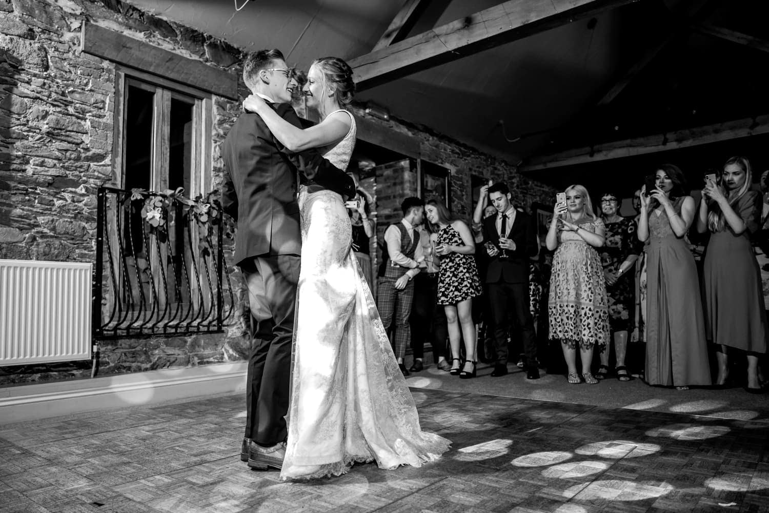 First dance at The Old Stables Wedding venue