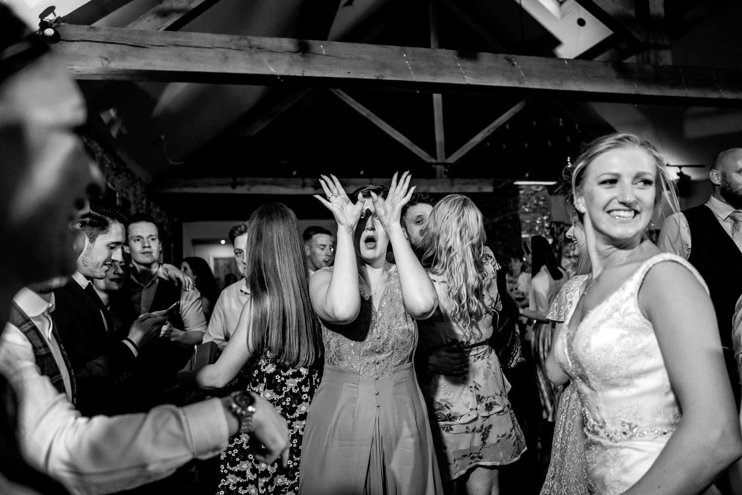Dancing at The Old Stables Wedding venue