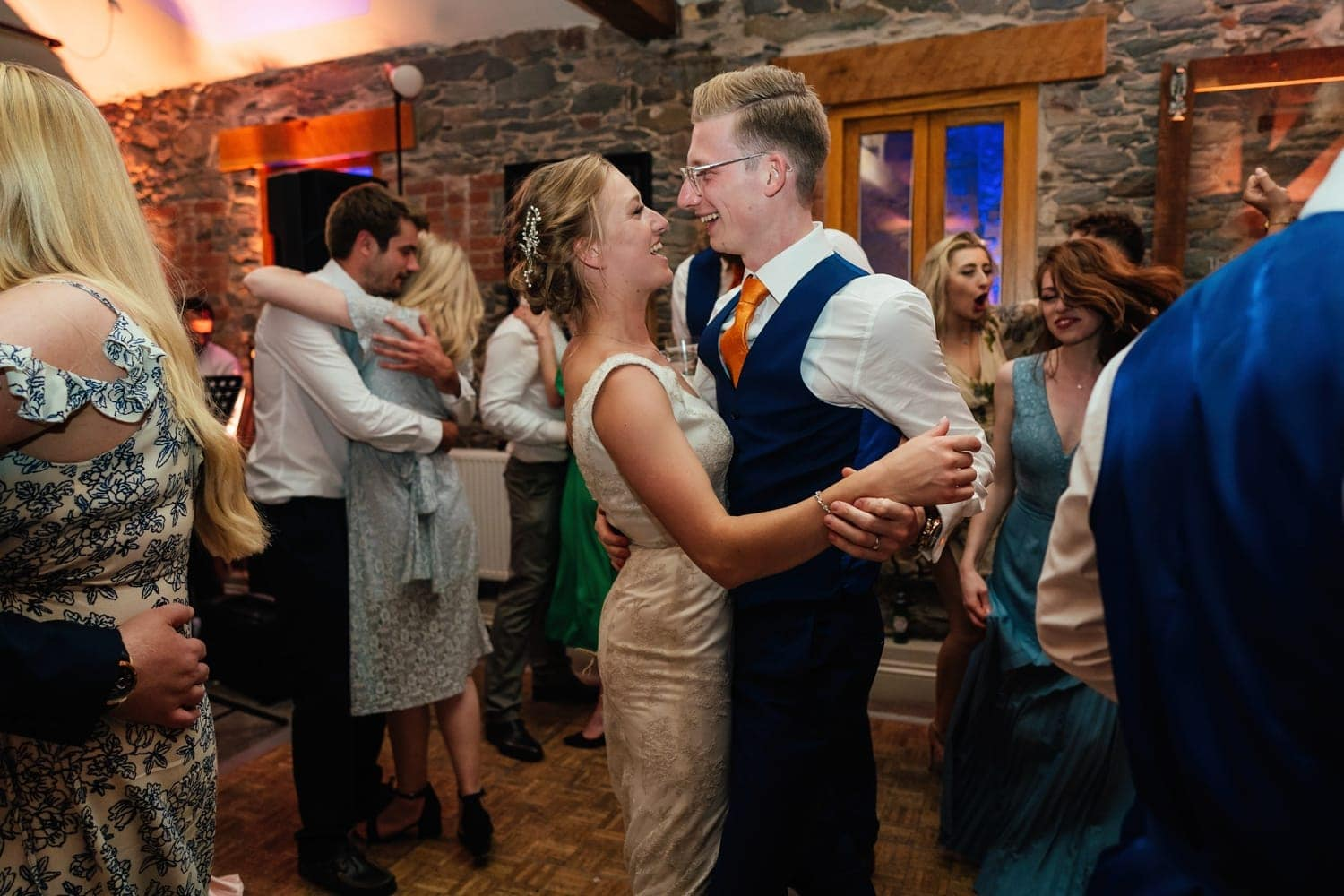 first dance at The Old Stables Wedding Photographer