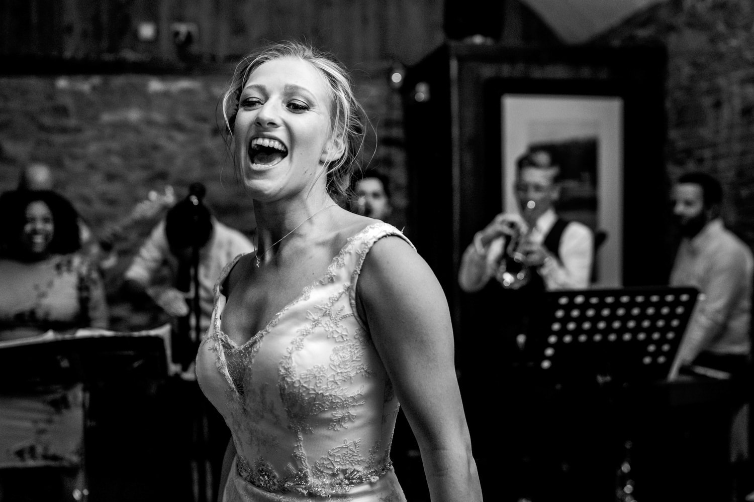 Dancing at The Old Stables Wedding