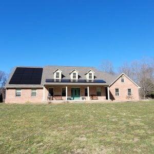 20 Solar Panel Roof System in Vanceburg KY