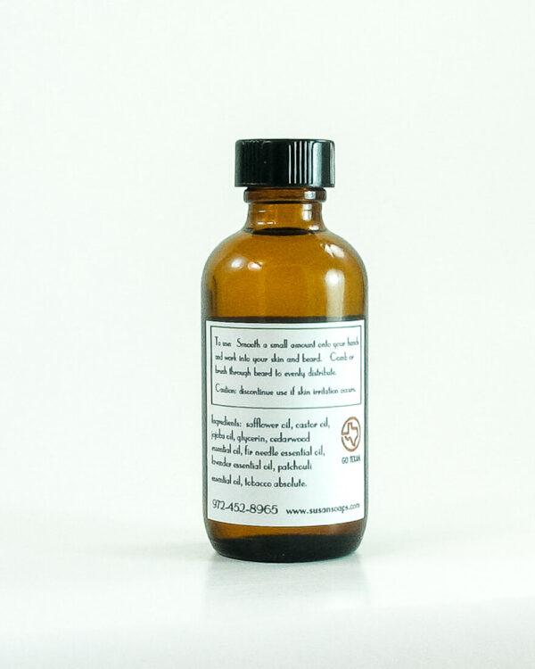 Beard Oil Back Label - Perez's Pick